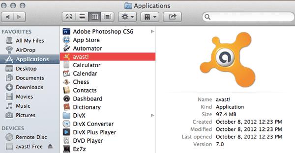 Installar antivirus Mac