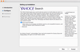 Yahoo search adware