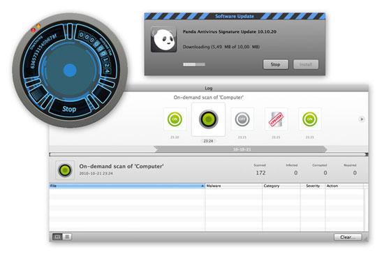 Panda antivirus para Mac